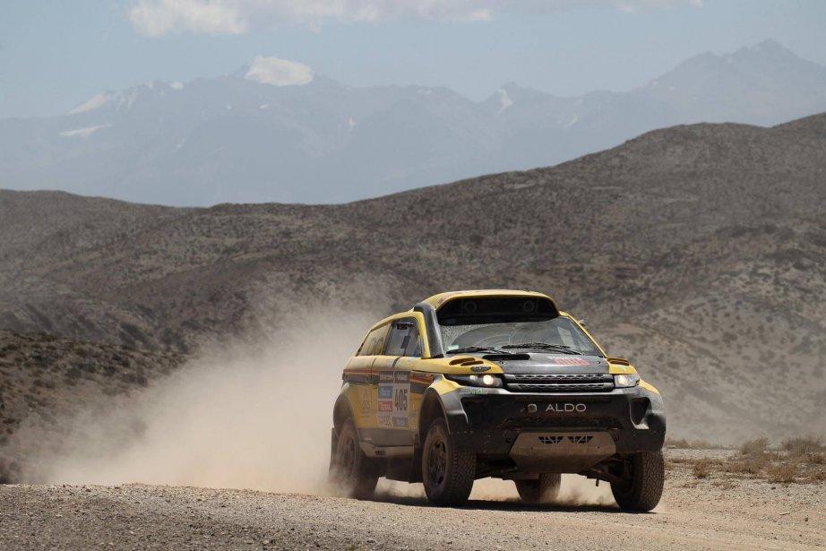 Les Québécois ont été contraints d'abandonner l'aventure à... (Photo fournie par Aldo Racing)