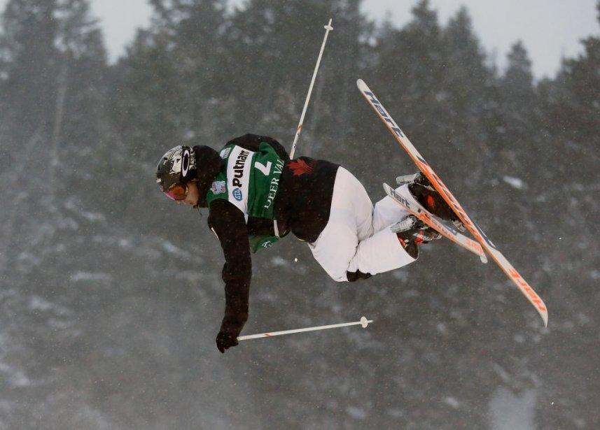 Alexandre Bilodeau a raflé la médaille d'argent. (Photo Jim Urquhart, USA Today)