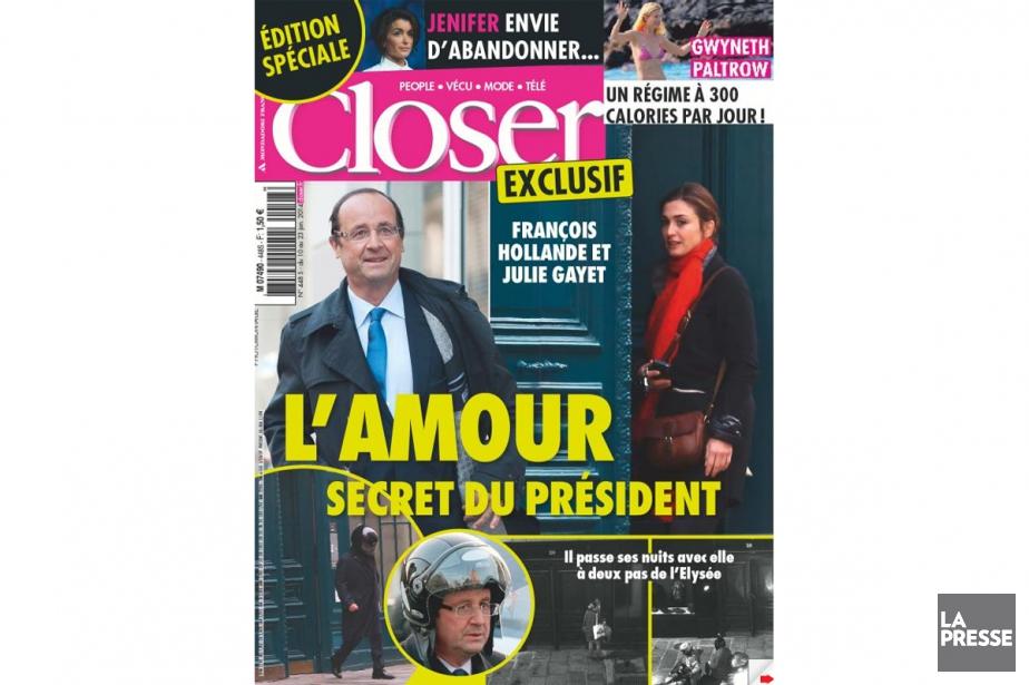 Les ventes du magazine Closer ont reculé de... (PHOTO ARCHIVES LA PRESSE)