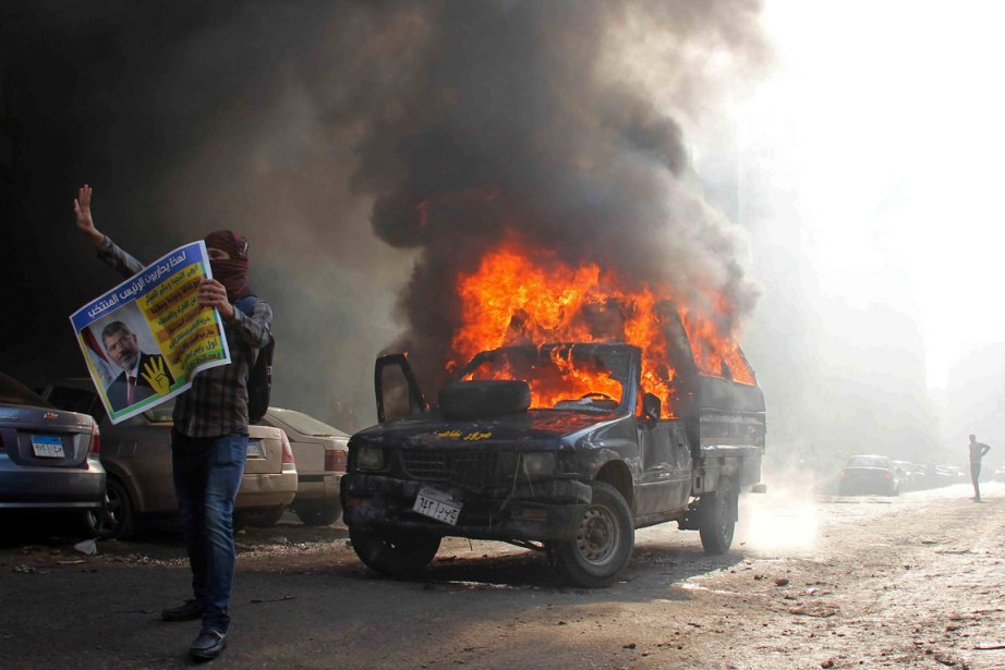Comme presque chaque jour et plus particulièrement le... (Photo Al Youm Al Saabi newspaper, Reuters)