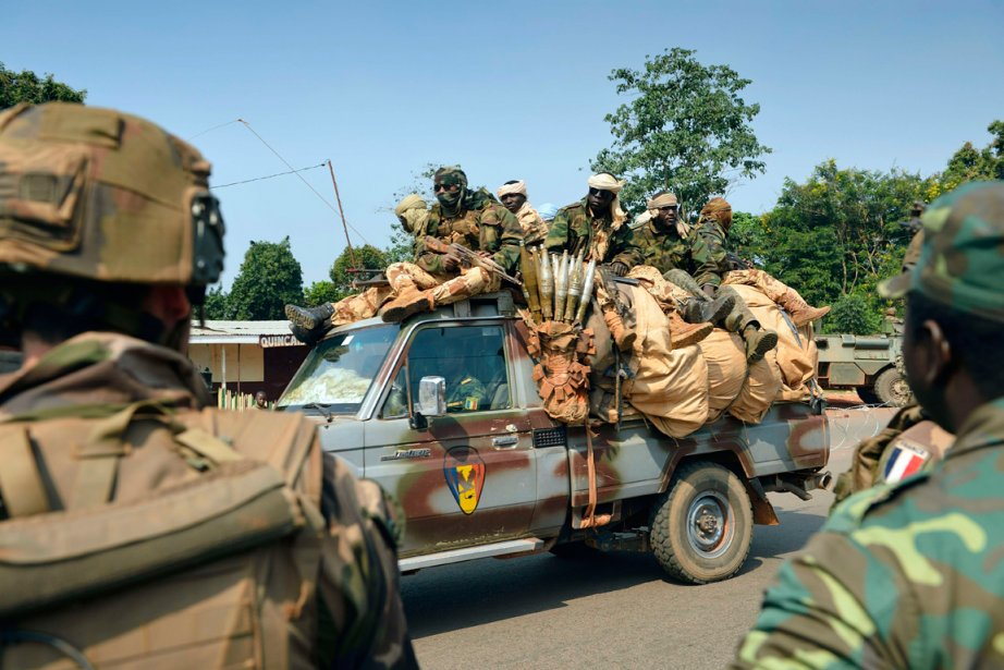 La Misca,la force d'interposition panafricaine présente en République... (PHOTO ERIC FEFERBERG, AFP)