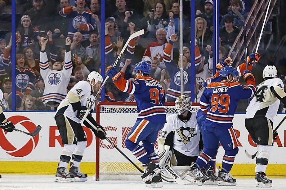 Les Oilers ont gagné seulement quatre de leurs... (Photo Perry Nelson, USA TODAY Sports)