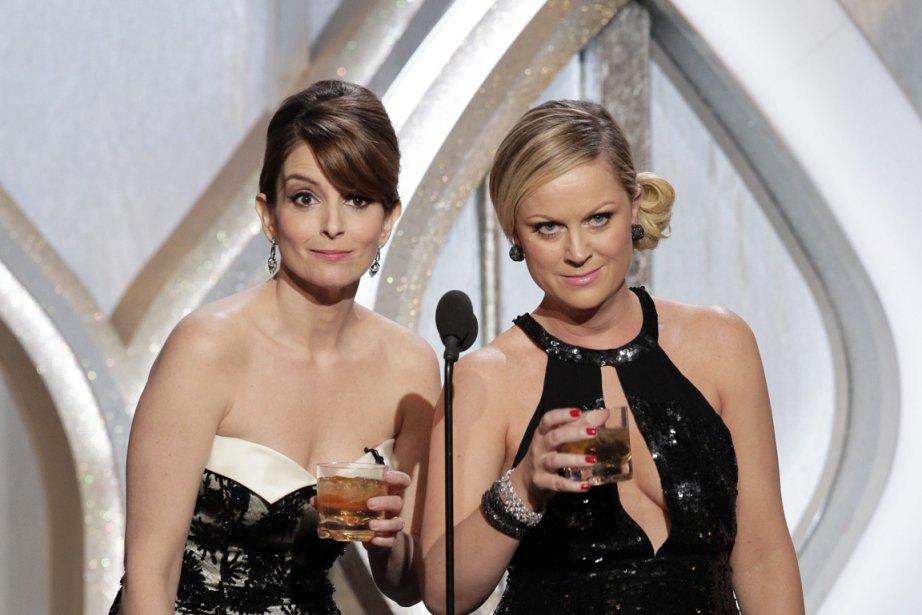 Tina Fey et Amy Poehler... (Photo AP)