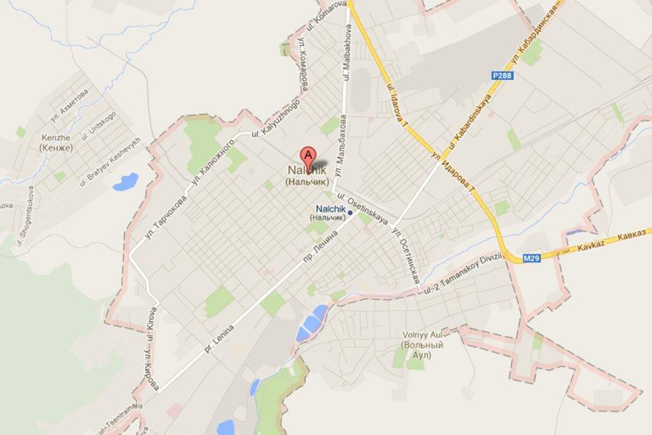 L'agence russe de lutte contre le terrorisme a... (Image tirée de Google Maps)