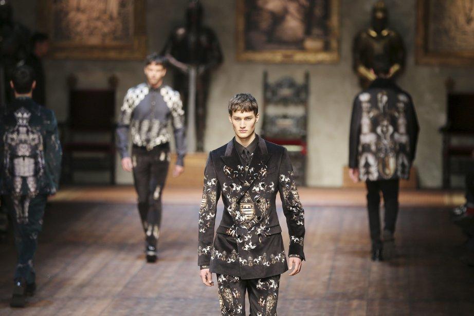 Dolce&Gabbana... (Photo Antonio Calanni, AP)