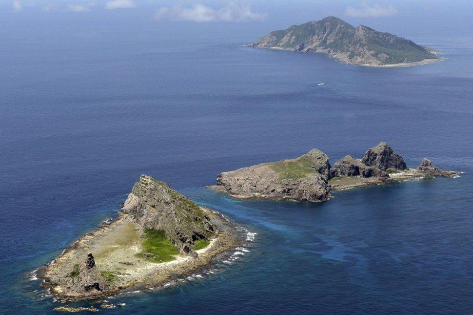 Les îles Senkaku sont contrôlées par le Japon... (Photo Kyodo News, archives AP)