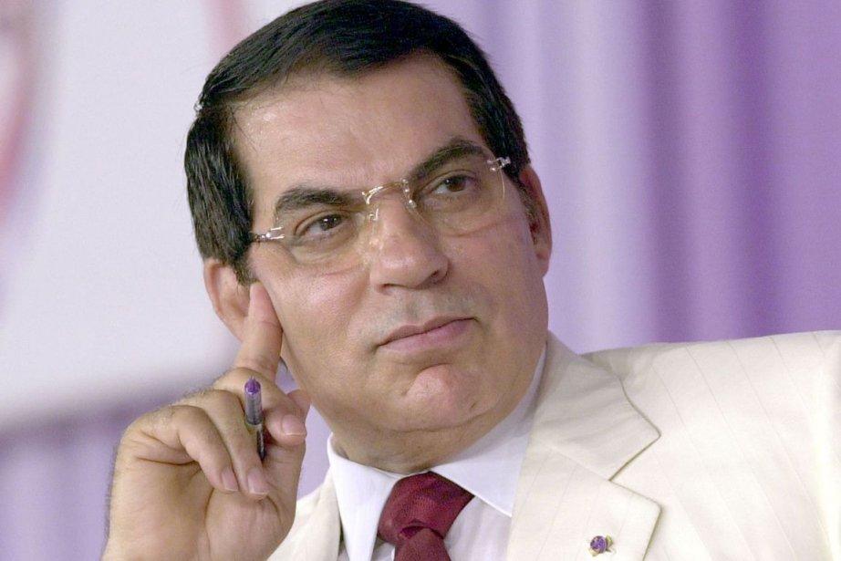 L'ancien président tunisien Zine El Abidine Ben Ali.... (ARCHIVES, Agence France-Presse)
