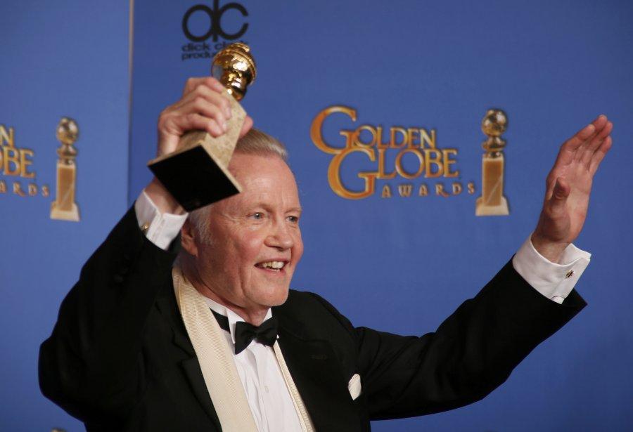 Jon Voight a remporté le titre «Meilleur acteur de soutien dans une série, mini-série ou film télé» pour son rôle dans Ray Donovan. (Reuters)