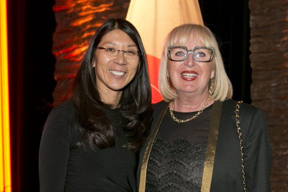 La DreJoanne Liu, gagnante dans la catégorie «Humanisme et accomplissement personnel» (àgauche), et Lisette Jean, présidente et fondatrice de la Maison Monbourquette. | 12 janvier 2014