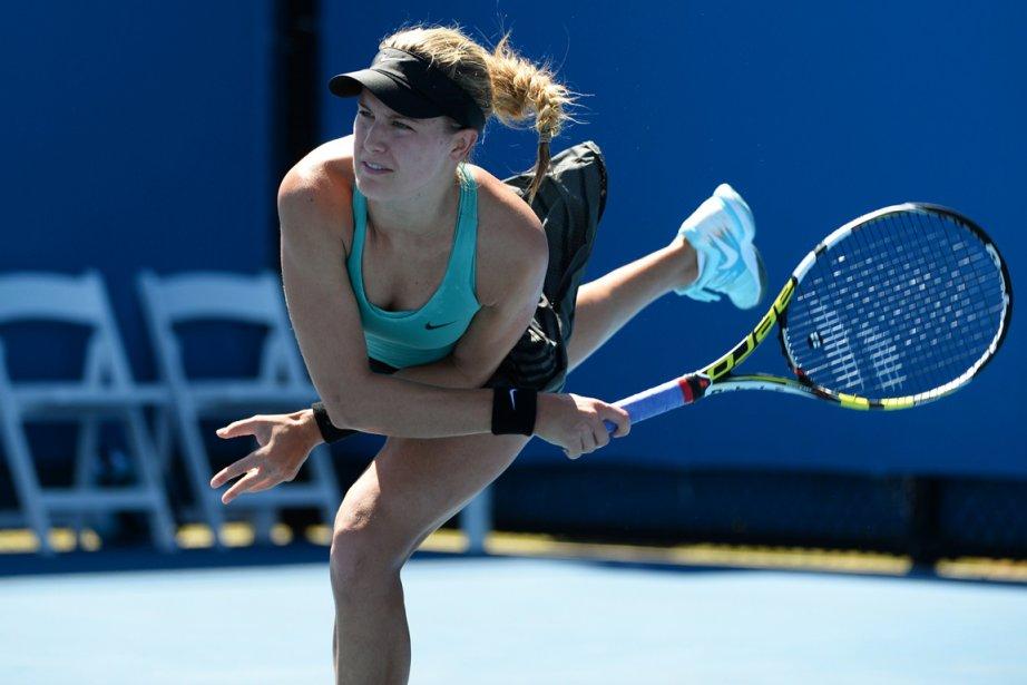 Eugenie Bouchard... (Photo William West, AFP)