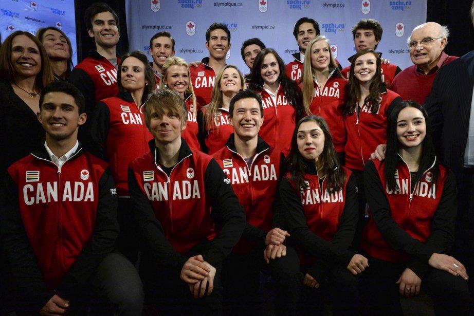 Le Canada enverra la plus importante délégation de... (Photo Sean Kilpatrick, PC)