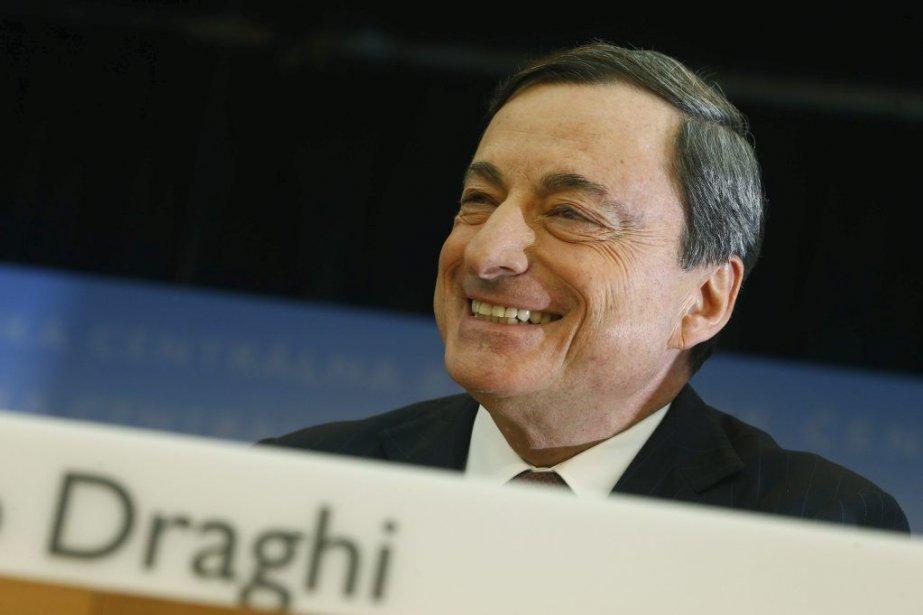 L'Italien Mario Draghi estprésident de la BCE depuis... (PHOTO RALPH ORLOWSKI, REUTERS)