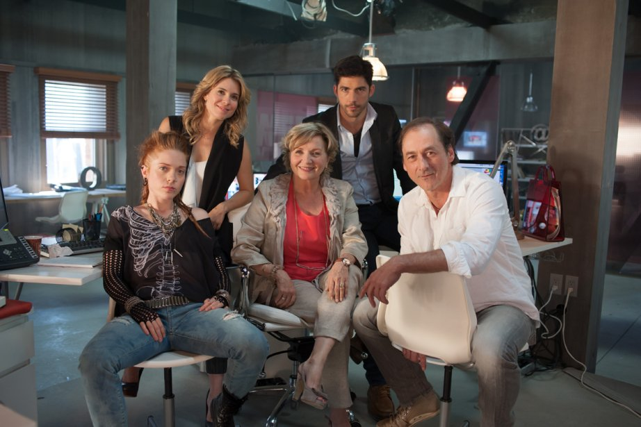 Catherine Bérubé, Julie Perreault, France Castel, Pierre-Yves Cardinal... (Photo: fournie par TVA)