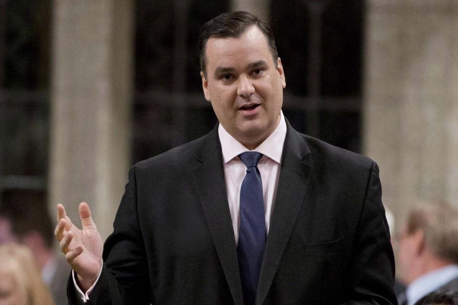 Le ministre fédéral de l'Industrie, James Moore.... (PHOTO ADRIAN WYLD, ARCHIVES LA PRESSE CANADIENNE)