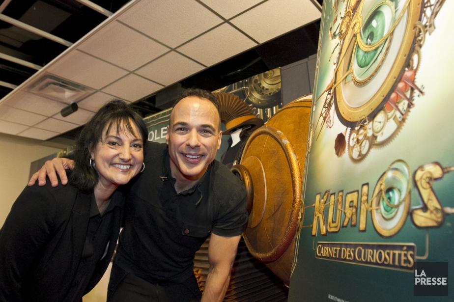 La directrice de création au Cirque du Soleil,... (Photo: Hugo-Sébastien Aubert, La Presse)