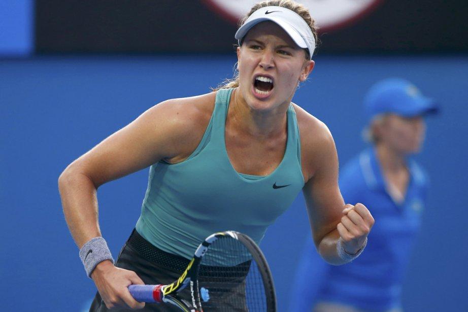 Eugenie Bouchard disputera un match de troisième tour... (Photo Petar Kujundzic, Reuters)
