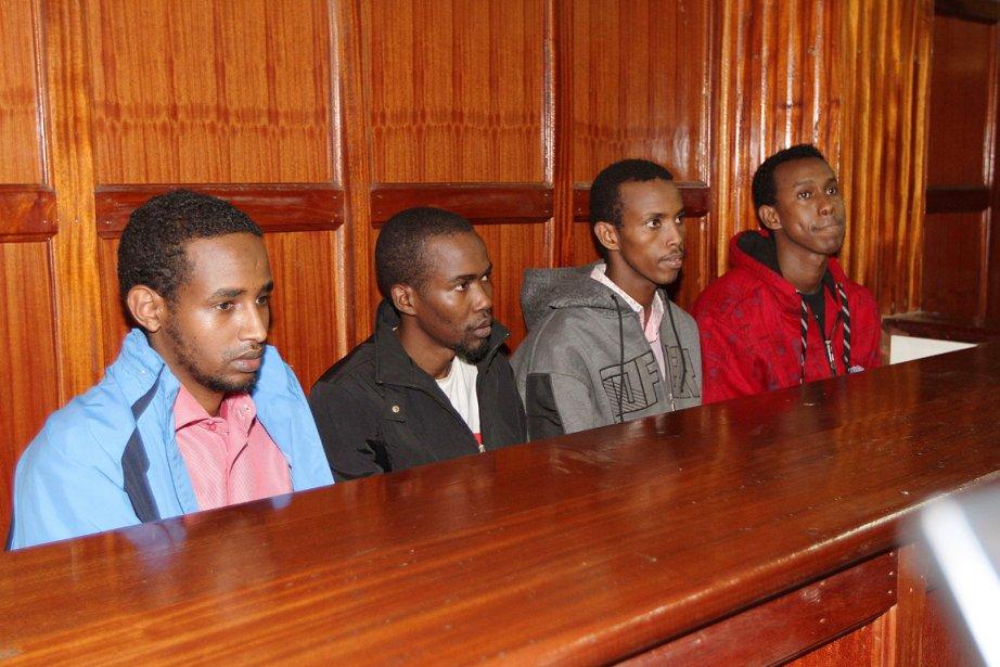 Les quatre hommes ne sont pas accusés d'avoir... (PHOTO KAMANJA KARANJA, ARCHIVES AFP)
