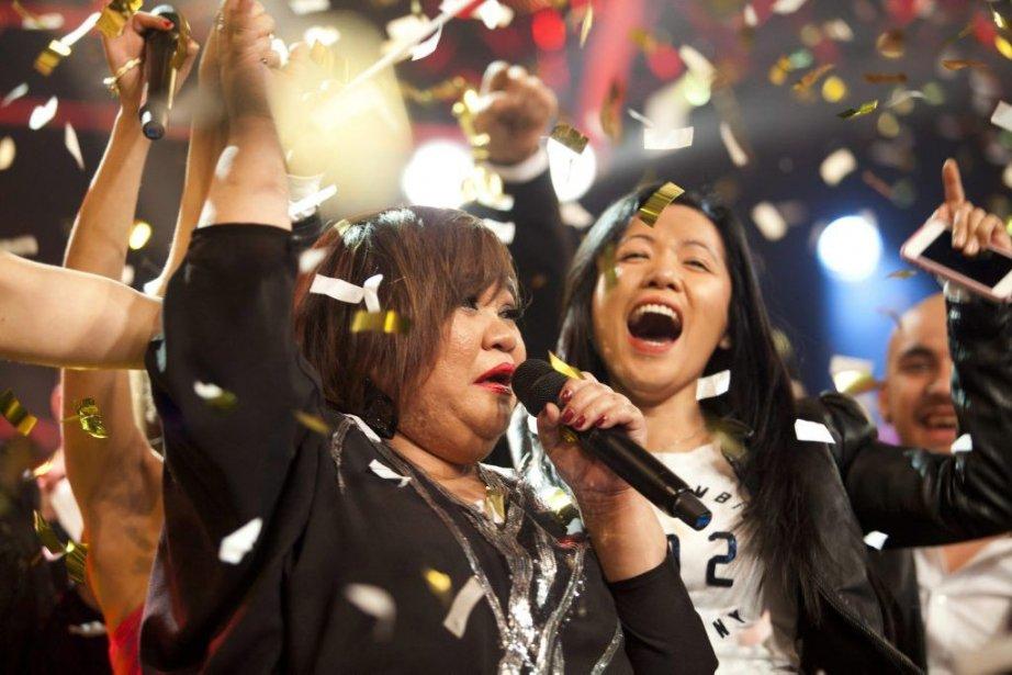 Rose Fostanes (à gauche) a remporté la finale... (Photo: AP)