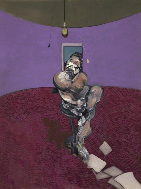 Portrait de George Dyer parlant de Francis Bacon... (Photo: AP)