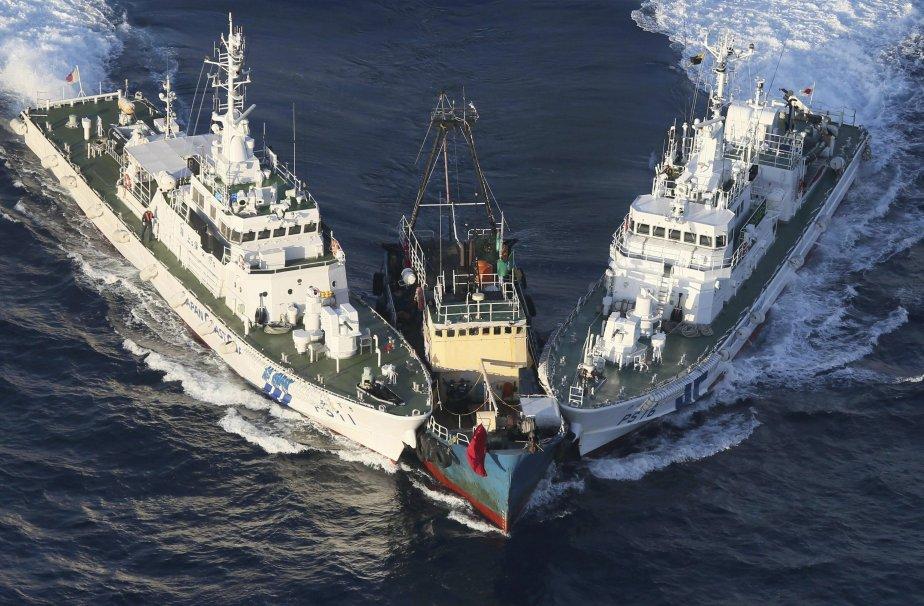 Les tensions restent vives entre la Chine et... (Photo Yomiuri Shimbun, archives Associated Press)