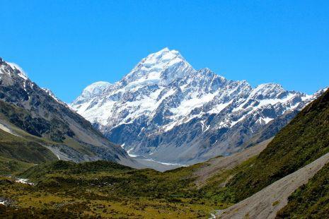 Le mont Cook... (Photo Thinkstock)