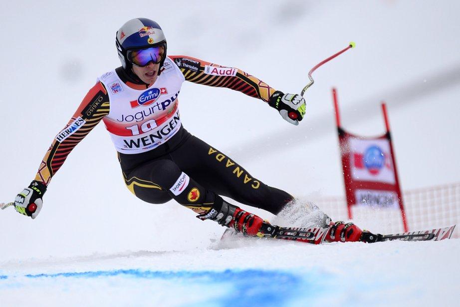 Erik Guay... (Photo Olivier Morin, AFP)
