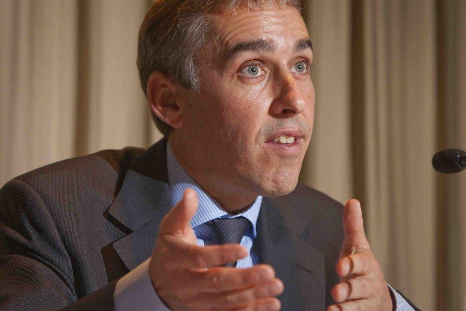 Le ministre québécois des Finances et de l'Économie,... ((Archives))