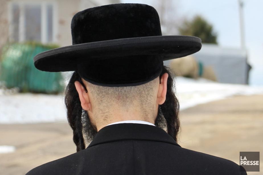 Un membre de la communauté Lev Tahor.... (Photo archives La Presse)
