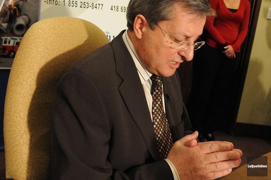Le maire Jean Tremblay avait perdu sa cause... (Photo Rocket Lavoie, Archives Le Quotidien)