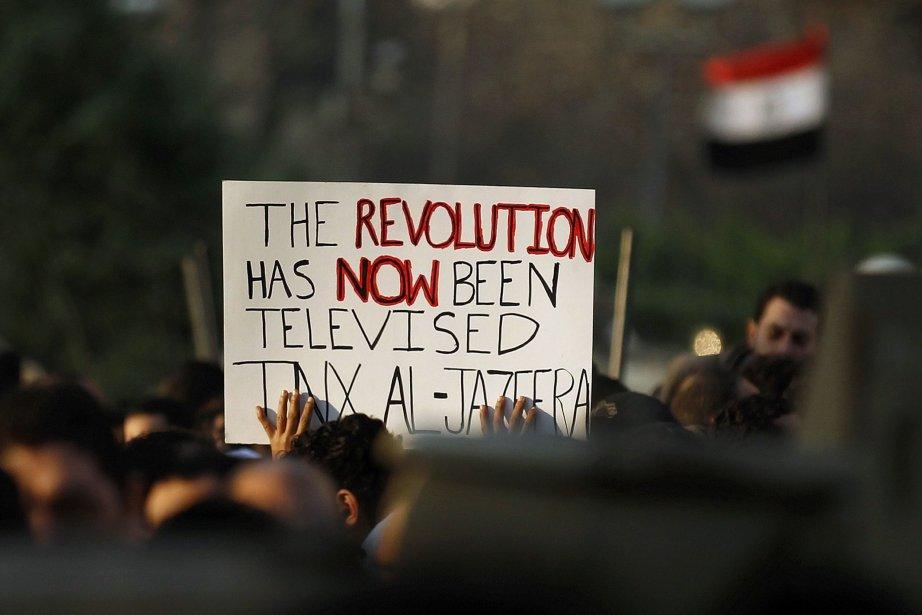 Al-Jazira a joué un rôle prépondérant lors du... (Photo Dylan Martinez, Reuters)