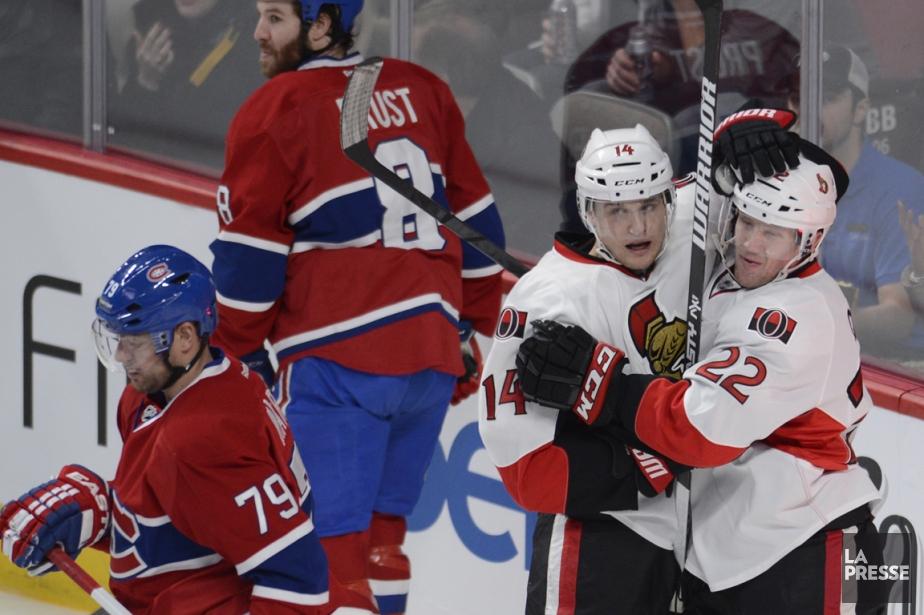 Les Sénateurs d'Ottawa ont remporté six de leurs... (Photo Bernard Brault, La Presse)