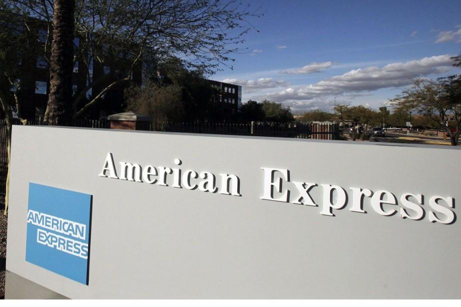 Un bureau d'American Express à Phoenix en Arizona.... (Photo Ross D. Franklin, AP)
