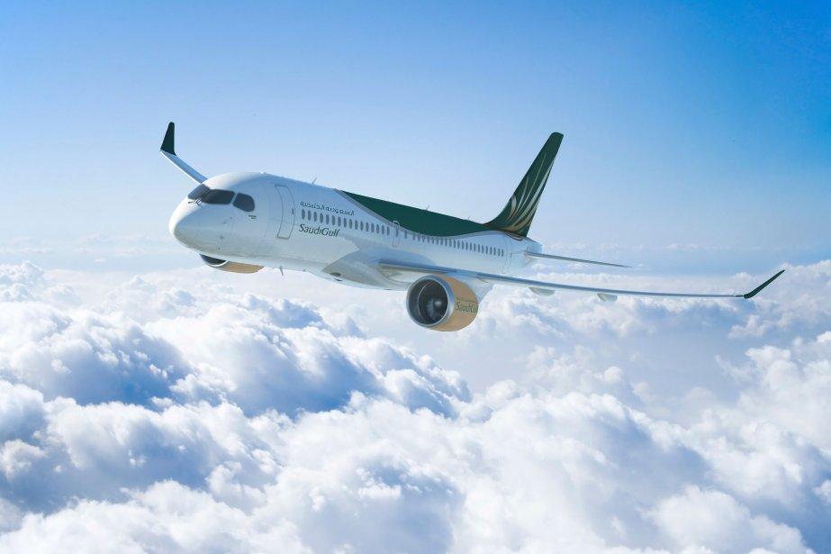 Un CS300 de Bombardier.... (Photo fournie par Bombardier)