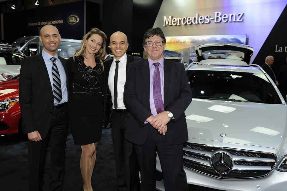 Avant premi re b n fice du salon international de l auto for Mercedes benz laval