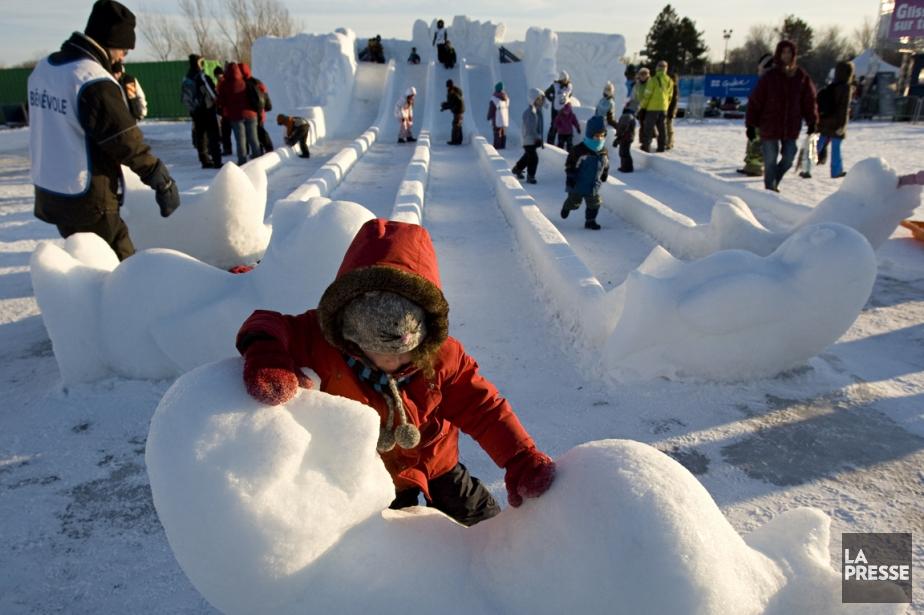 Sous le thème «Viens jouer dehors», pas moins... (Photo David Boily, archives La Presse)