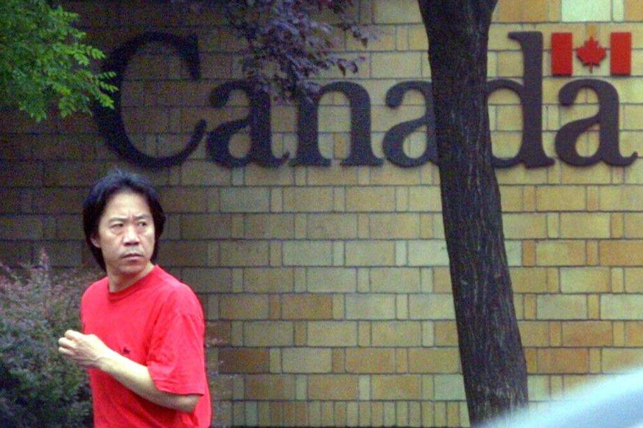 L'ambassade du Canada à Pékin, en Chine.... (PHOTO ARCHIVES LA PRESSE CANADIENNE)