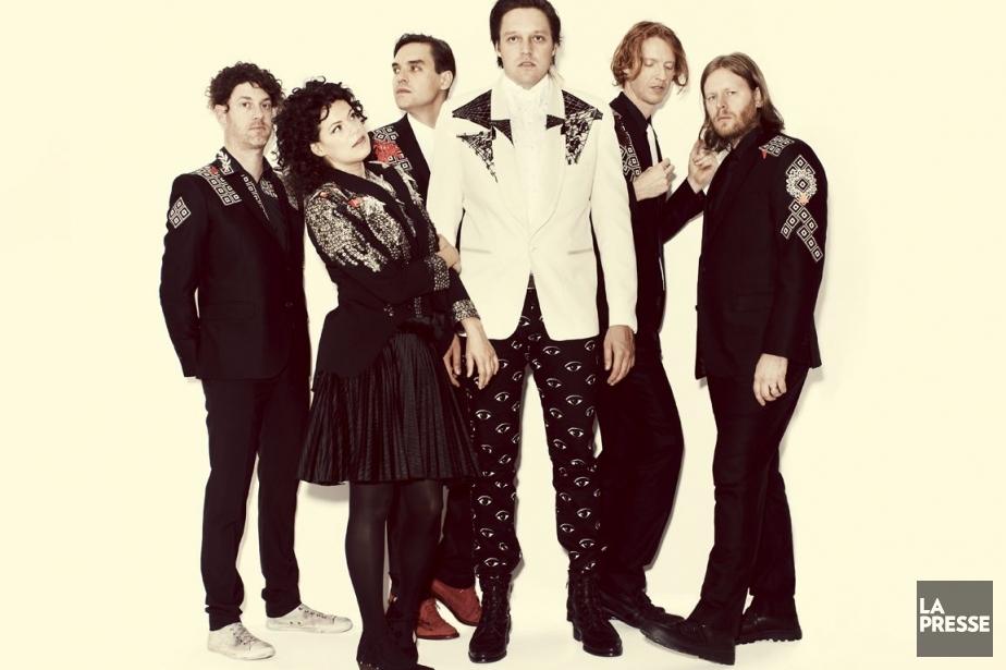 Le groupe Arcade Fire... (Photo: archives La Presse)