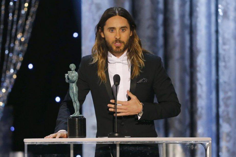 Jared Leto a obtenule prix du meilleur acteur... (PHOTO MIKE BLAKE, REUTERS)