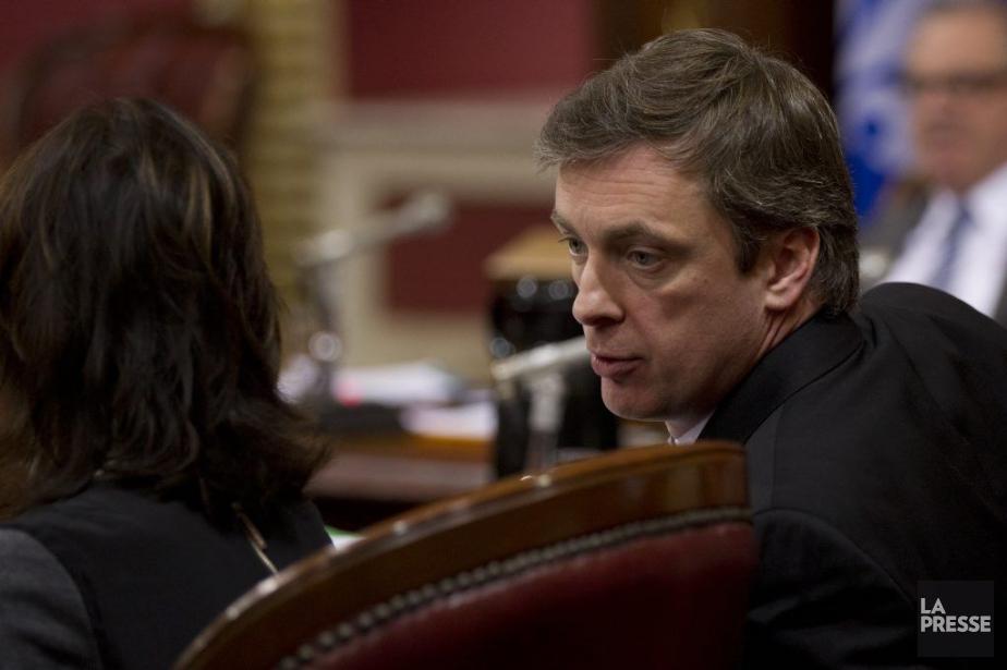 La valse-hésitation étonnante du porte-parole libéral Marc Tanguay... (Photo Olivier Jean, La Presse)