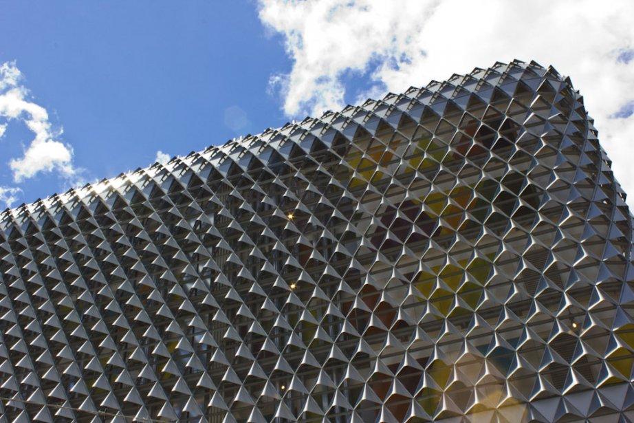 Le nouveau centre de recherche médicale d'Australie du Sud a été conçu par les architectes Gavin Kains et Woods Bagot. (Photo Audrey Bourget, Collaboration spéciale)