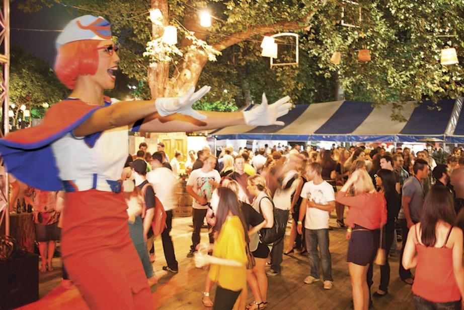 Le festival Fringe d'Adélaïde est le deuxième en importance au monde, après celui d'Édimbourg, en Écosse. (Photo Andre Castellucci (fournie par le Fringe Festival))