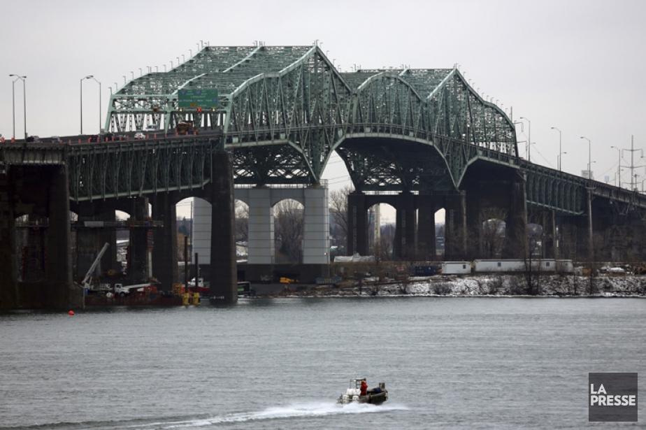 Le pont Champlain, utilisé chaque jour par plus... (Photo: Martin Chamberland, archives La Presse)