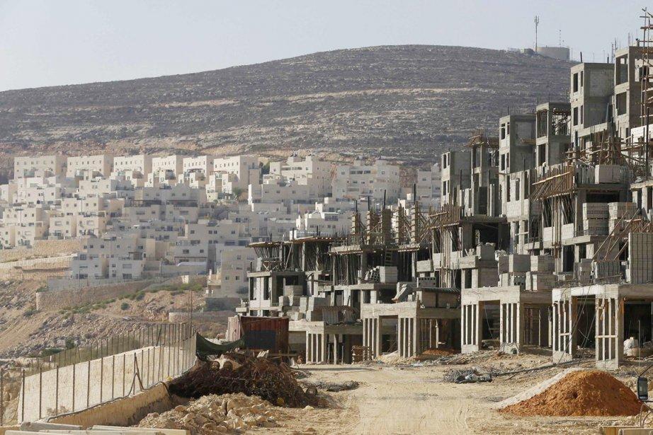 L'administration militaire israélienne a publié lundi des «plans... (PHOTO BAZ RATNER, ARCHIVES REUTERS)