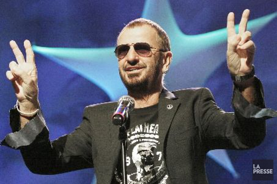 Ringo Starr... (Photo: archives La Presse Canadienne)