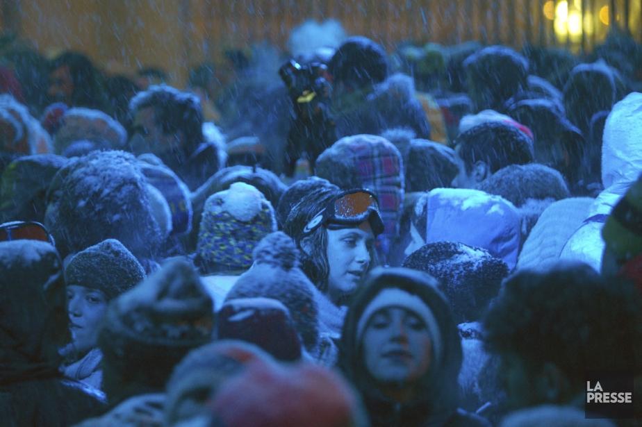 Un peu comme Igloofest (notre photo) la Fête... (Photo Olivier Jean, archives La Presse)