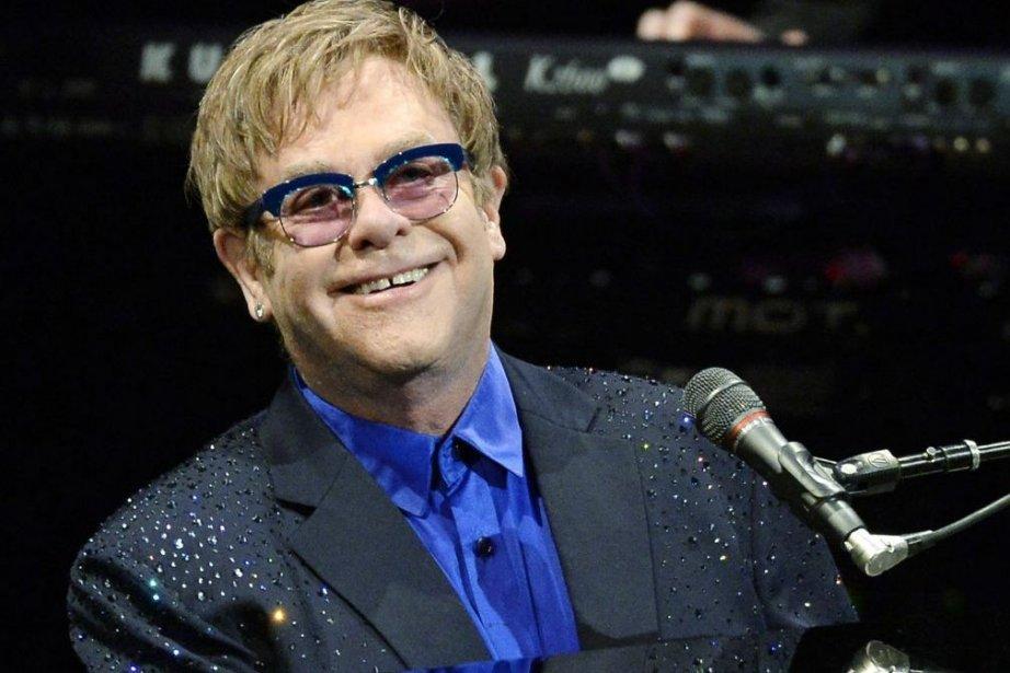 Elton John... (Photo: Reuters)