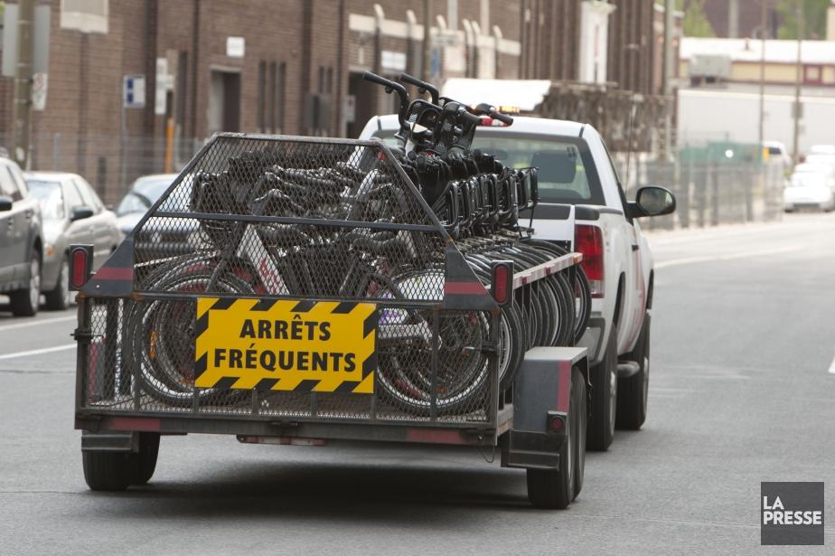 Malgré une bonne idée, le projet BIXI s'est... (PHOTO HUGO-SÉBASTIEN AUBERT, archives LA PRESSE)