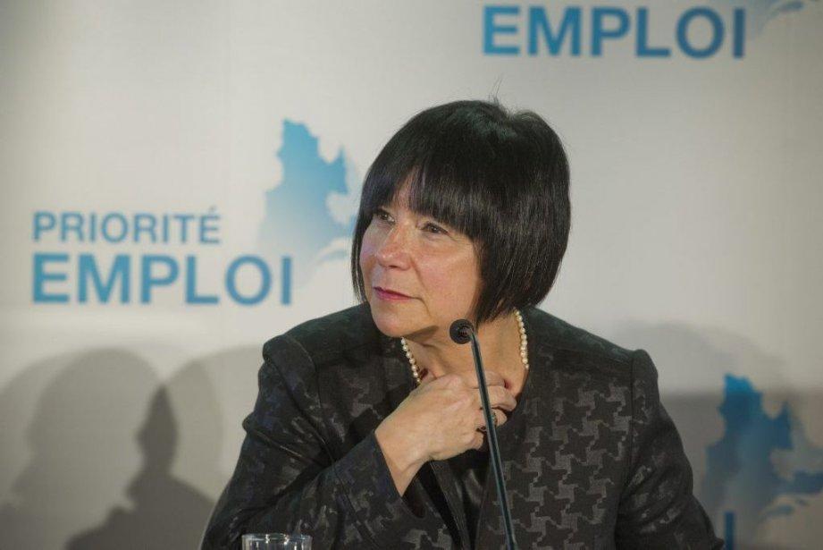 Élaine Zakaïb... (Photo Ivanoh Demers, archives La Presse)