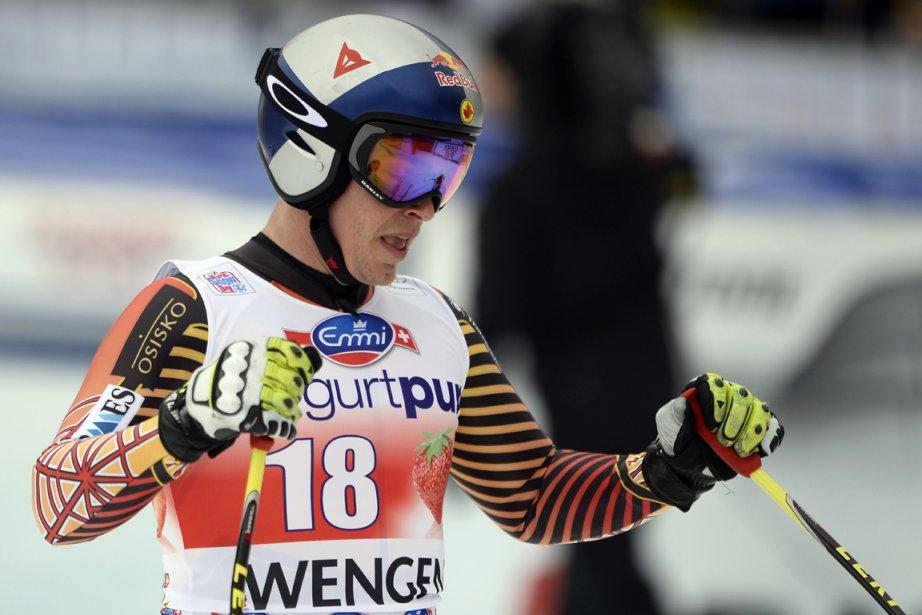 Incommodé par une blessure à un genou, Erik... (Photo Fabrice Coffrini, AFP)