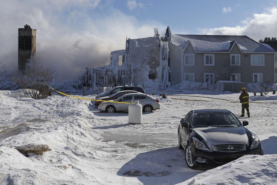 La Résidence du Havre n'était protégée que partiellement... (Photo Mathieu Belanger, Reuters)